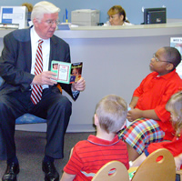 Assemblyman Thomas P. Giblin Reading to Youth